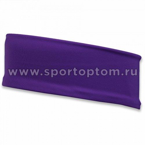 Повязка на голову INDIGO SM-266 18*5 см Фиолетовый