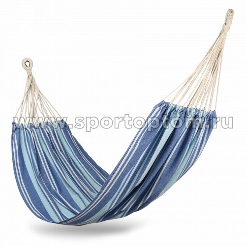 Гамак INDIGO тканевый  (сумка, без планок) HRH-09 200*100см Серо-синий