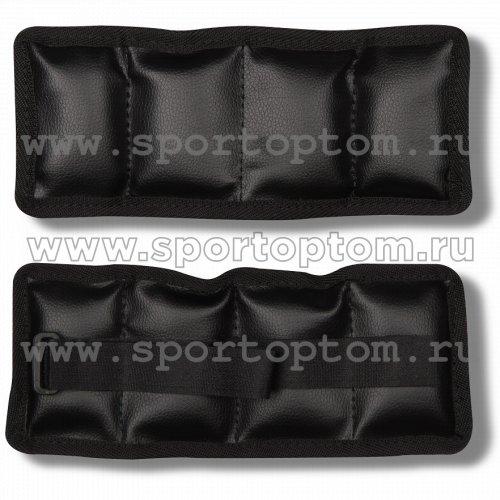 Утяжелители ПРОФИ и/к SM-150 2*0,2 кг Черный