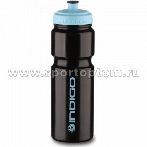 Бутылка для воды INDIGO BAIKAL IN011 800 мл Черно-синий
