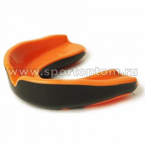 Капа 1 челюстная  RSC термо в контейнере MS4-A  Черно-оранжевый