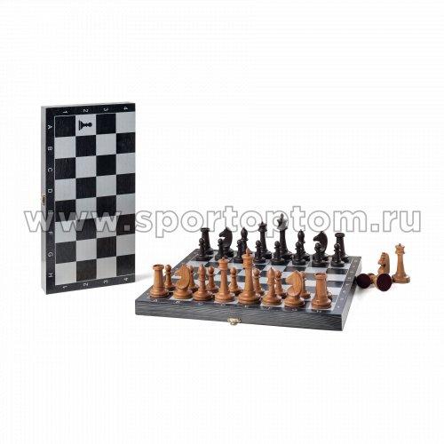 Шахматы турнирные фигуры буковые большие с доской 342-19 40*40 см Черный
