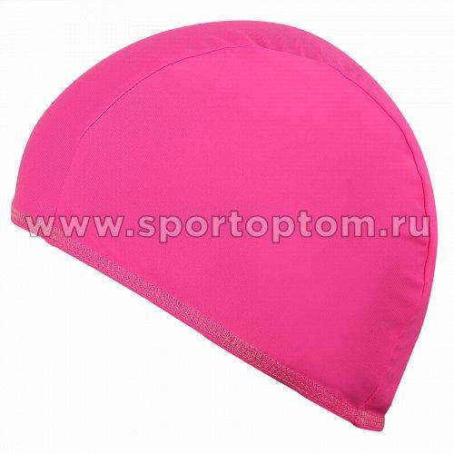 Шапочка для плавания  ткань LUCRA SM однотонная SM-091 Розовый