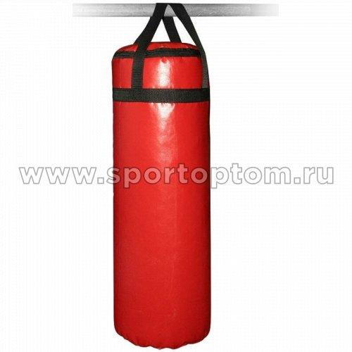 Мешок боксерский SM 10 кг на стропе (армированный PVC) SM-232 10 кг Красный