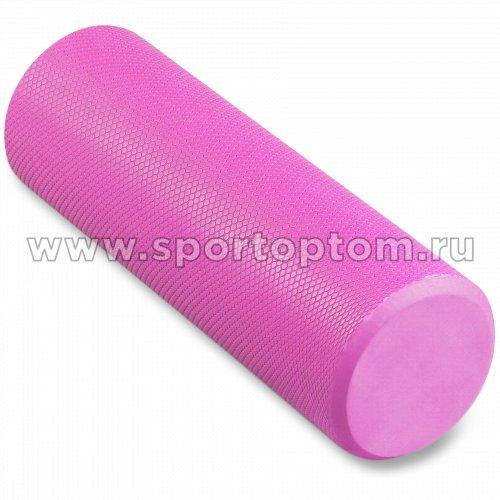 Ролик массажный для йоги INDIGO Foam roll  IN021 45*15 см Розовый
