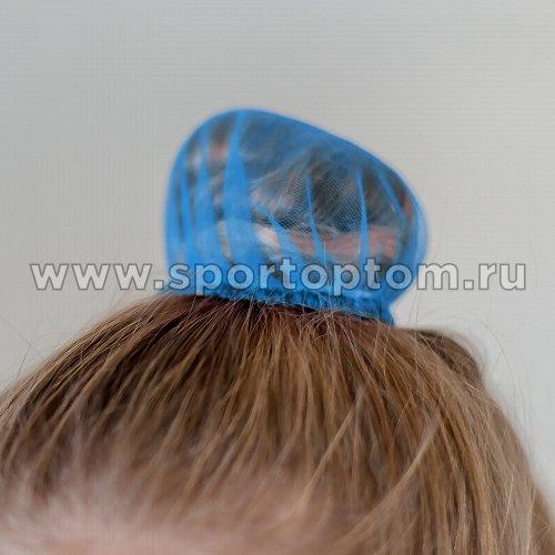 Сеточка для волос INDIGO SM-329             9 см Голубой