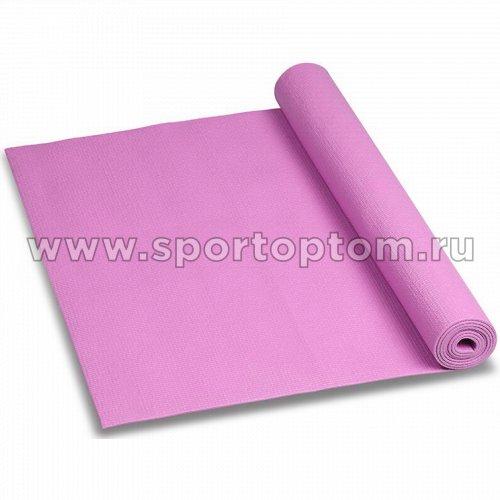 Коврик для йоги и фитнеса INDIGO PVC YG03 173*61*0,3 см Розовый