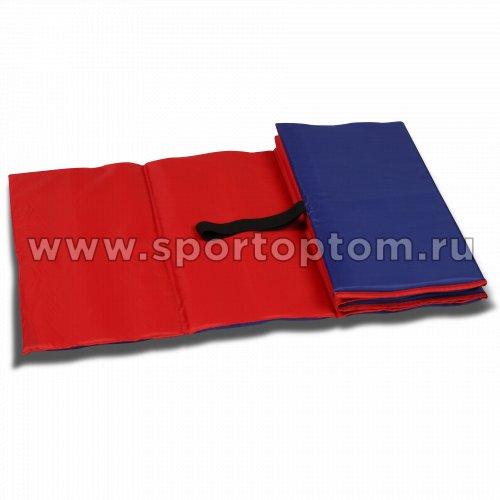 Коврик гимнастический детский INDIGO SM-043 150*50*1 см Сине-красный