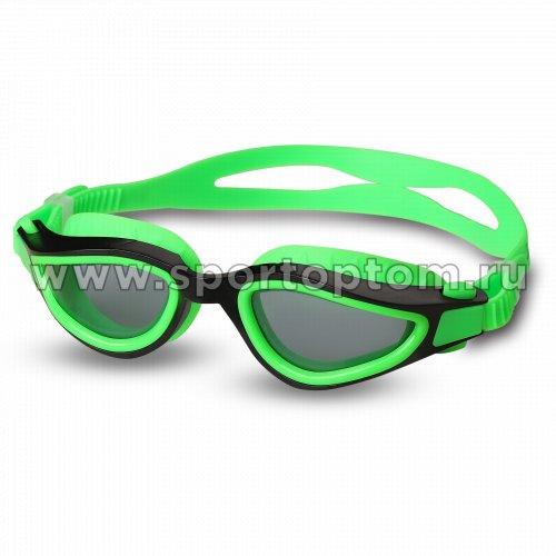 Очки для плавания INDIGO SALMON  GS25-4 Зелено-черный