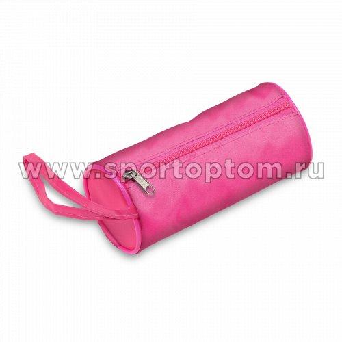 Чехол для скакалки INDIGO  (тубус) SM-142 19*8 см Розовый