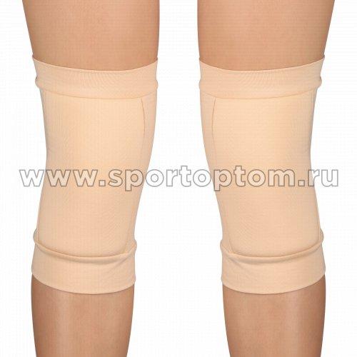 Наколенник для гимнастики и танцев INDIGO SM-113 L Бежевый