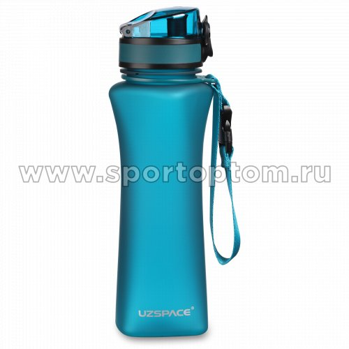 Бутылка для воды с сеточкой UZSPACE   тритан  6008 500 мл Бирюзовый