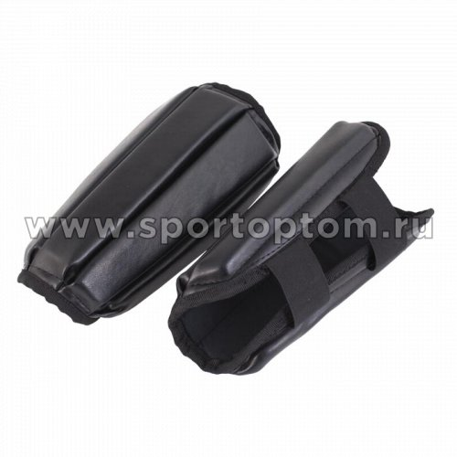 Защита голени SM и/кожа  SM-036 Черный