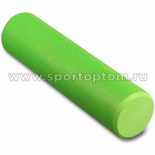 Ролик массажный для йоги INDIGO Foam roll  IN022            15*60 см Зеленый