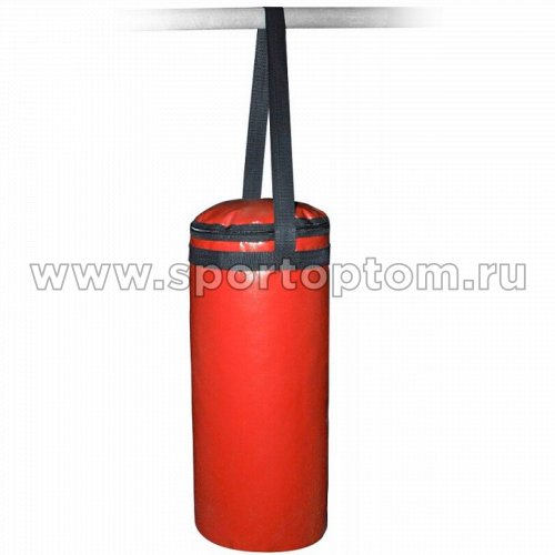 Мешок боксерский SM 06 кг  на стропе (армированный PVC) SM-231 6 кг Красный