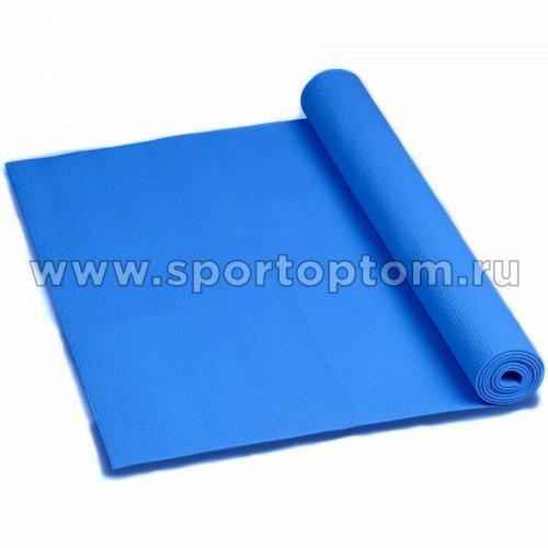 Коврик для йоги и фитнеса INDIGO PVC YG03                173*61*0,3 см Синий