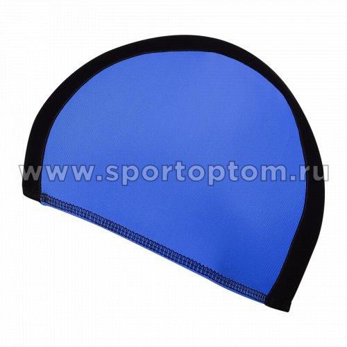 Шапочка для плавания  ткань LUCRA SM комбинированная SM-089 Черно-синий