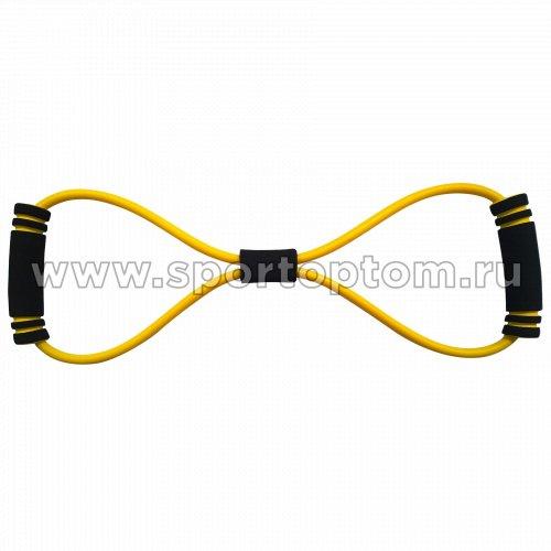 Эспандер Восьмёрка LATEX INDIGO LIGHT 1 жгут SM-063 Желтый