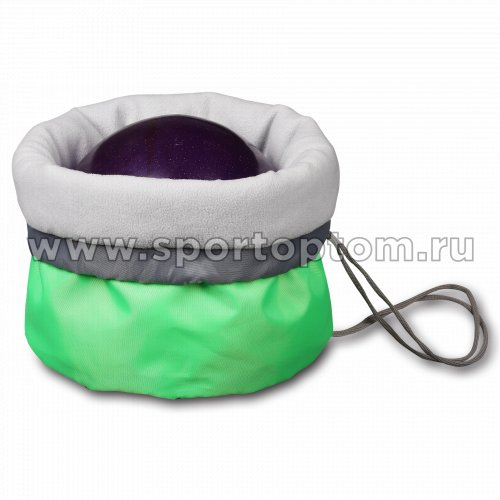 Чехол для мяча гимнастического утепленный INDIGO SM-335 34*24 см Салатовый