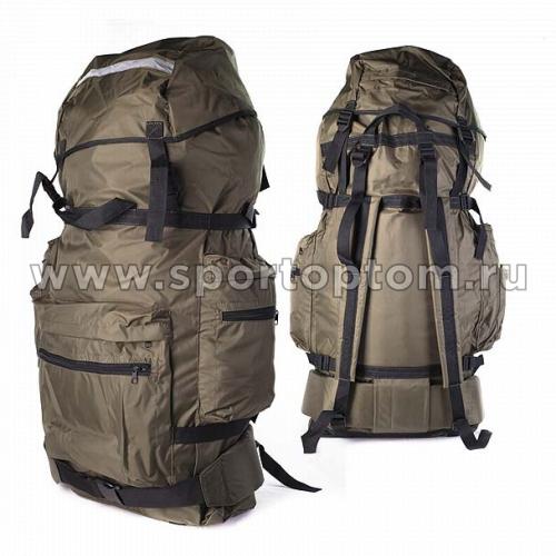 Рюкзак  Лес 1 жесткая спина SM-213 80 л Хаки