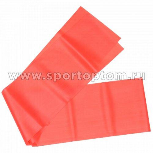 Эспандер ленточный INDIGO  MEDIUM (ТПЭ) IN295 1,8м*15см*0,45мм Красный