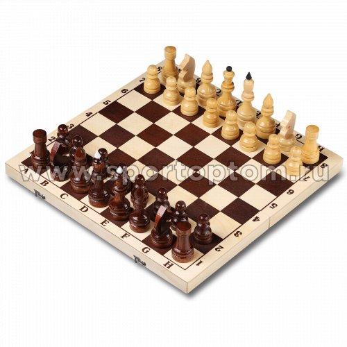 Шахматы деревянные Гроссмейстерские лакированные с доской  Россия  43*43 см