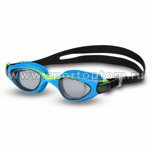 Очки для плавания детские INDIGO NAVAGA  GS23-1       Сине-зеленый
