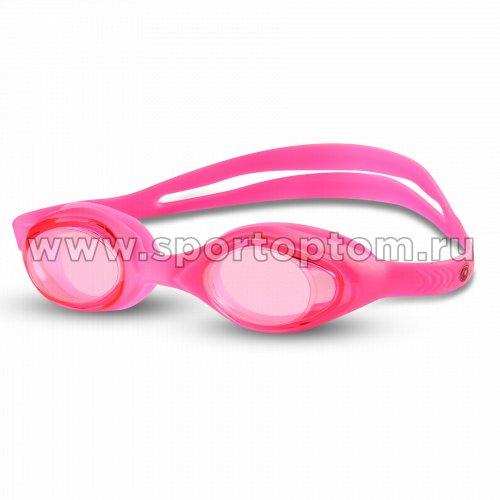 Очки для плавания детские INDIGO  G6135 Цикламеновый