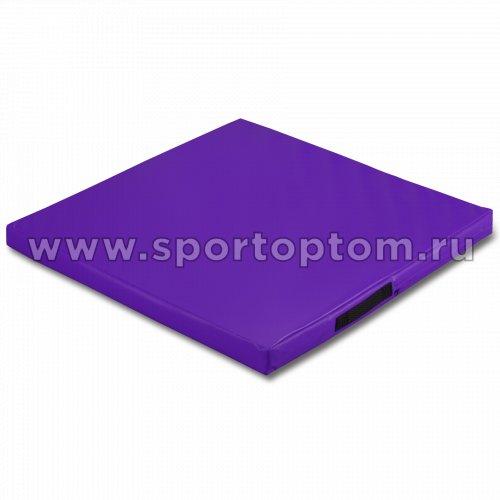 Мат гимнастический SM SM-107 1*1*0.08 м  Фиолетовый
