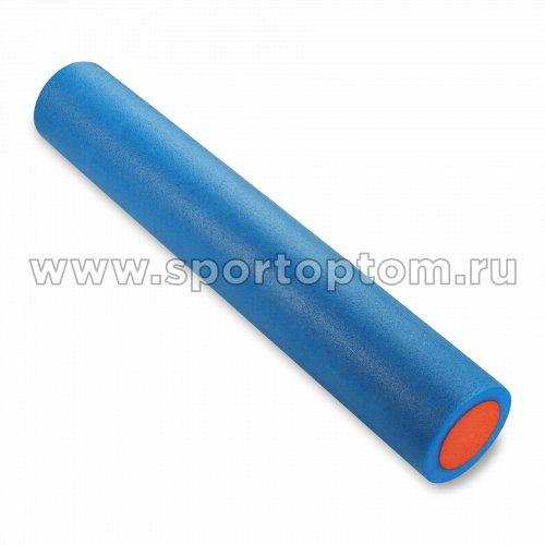 Ролик массажный для йоги INDIGO EPE  IN270 90*15 см Синий