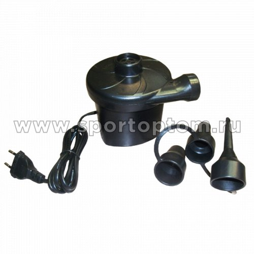 Насос электрический 220-240V, 3 насадки, мощность 150W НТ196 Черный