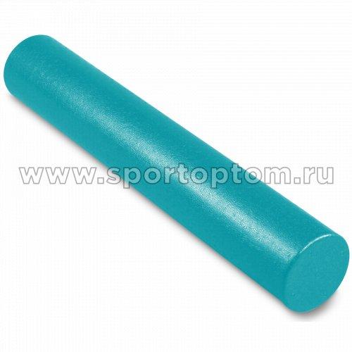 Ролик массажный для йоги INDIGO Foam roll  IN023 90*15 см Бирюзовый