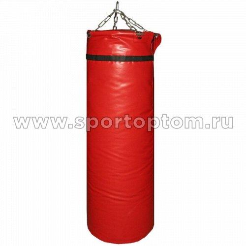 Мешок боксерский SM 55кг на цепи (армированный PVC) SM-239 55 кг Красный
