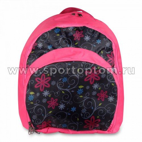 Рюкзак для художественной гимнастики INDIGO SM-200                    25 л Цветы
