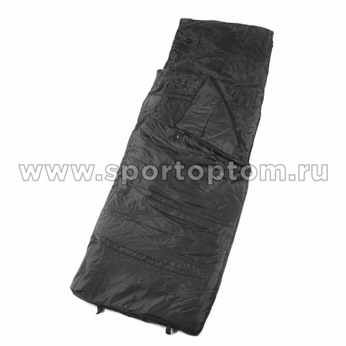 Спальник SM одеяло с подголовником 0+10 SM-309 75*220 см Хаки