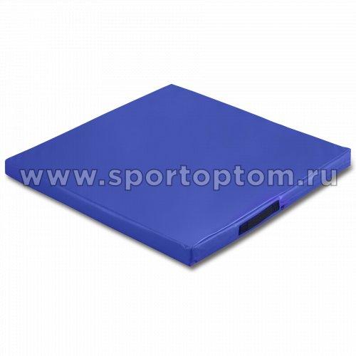 Мат гимнастический SM  SM-107 1*1*0.08 м  Синий