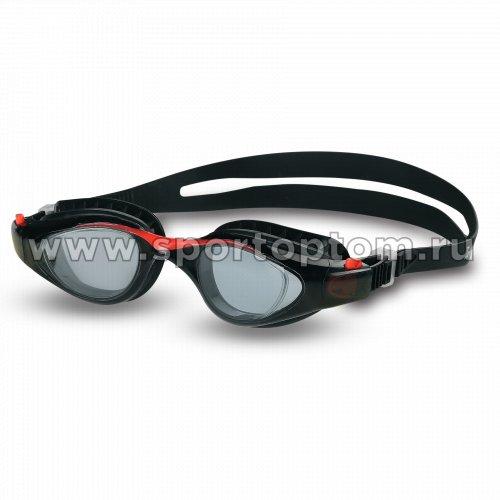 Очки для плавания детские INDIGO NAVAGA  GS23-2 Черно-красный
