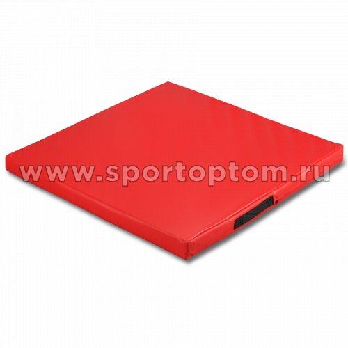 Мат гимнастический SM SM-107 1*1*0.08 м  Красный