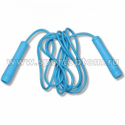Скакалка HAWK ПВХ, пластиковые ручки  107 HKJR 2,7 м Голубой