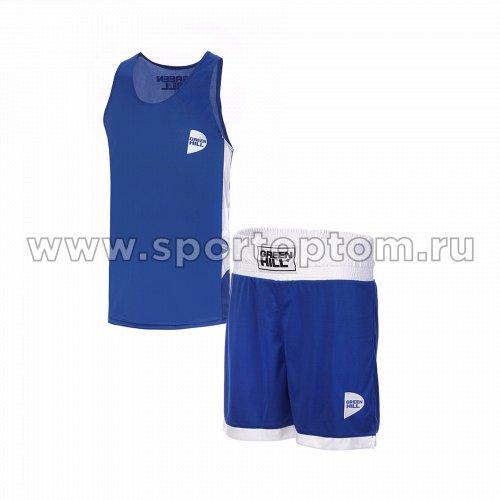 Форма боксёрская Green Hill INTERLOCK  BSI-3805 Синий