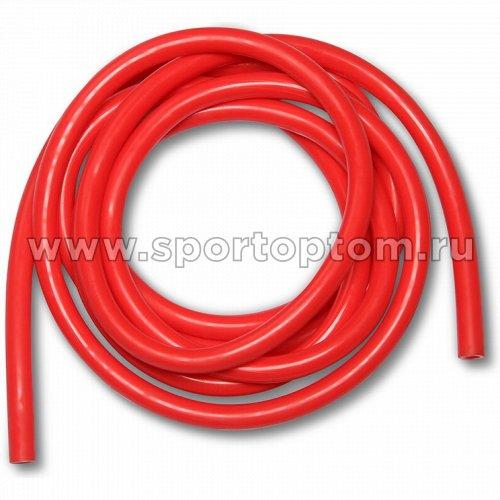 Эспандер трубка латексная INDIGO MEDIUM (5-8 кг) SM-074 3м*11мм Красный