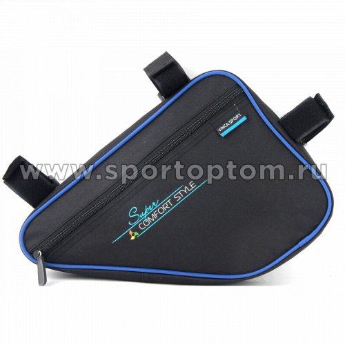 Вело Сумка подрамная  FB-05-1 240*180*60мм Черно-синий
