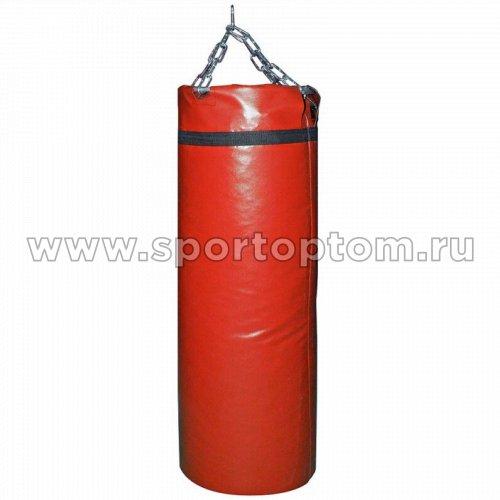 Мешок боксерский SM 30кг на цепи (армированный PVC) SM-236 30 кг Красный