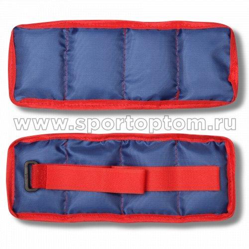 Утяжелители КЛАССИКА SM-148 2*0,5 кг Синий
