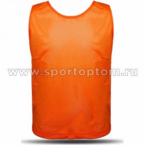Манишка Сетчатая Спортивные Мастерские SM-248 Оранжевый