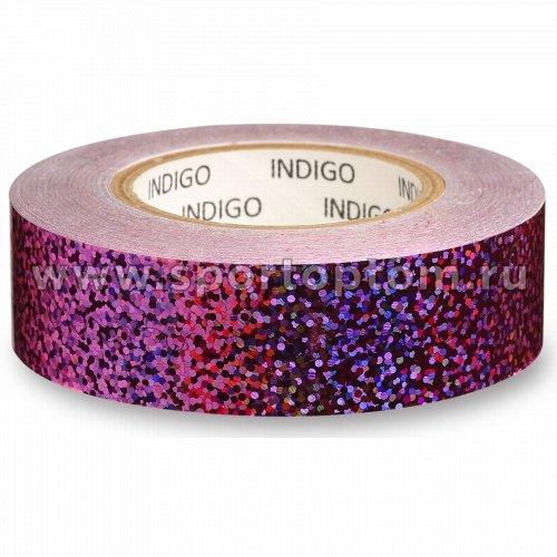 Обмотка для обруча с подкладкой INDIGO CRYSTAL IN139 20мм*14м Сиреневый