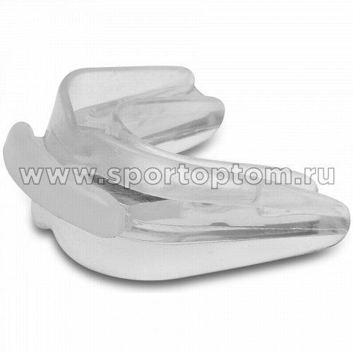 Капа 2 челюстная INDIGO термо в контейнере  1460 -2(D) Прозрачный