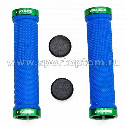 Вело Ручки с металлическими зажимами H-G 119 12,9 см Сине-зеленый