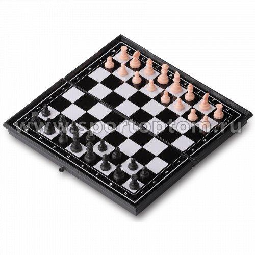Игра 3 в 1 магнитная  (нарды, шахматы, шашки) 3216                      19*19 см