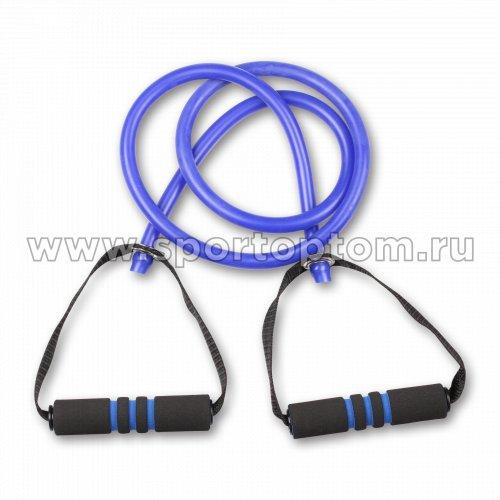Эспандер для степа LATEX INDIGO HEAVY 1 жгут SM-067 130 см Синий